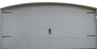 Garex new hampshire pebble color garage door